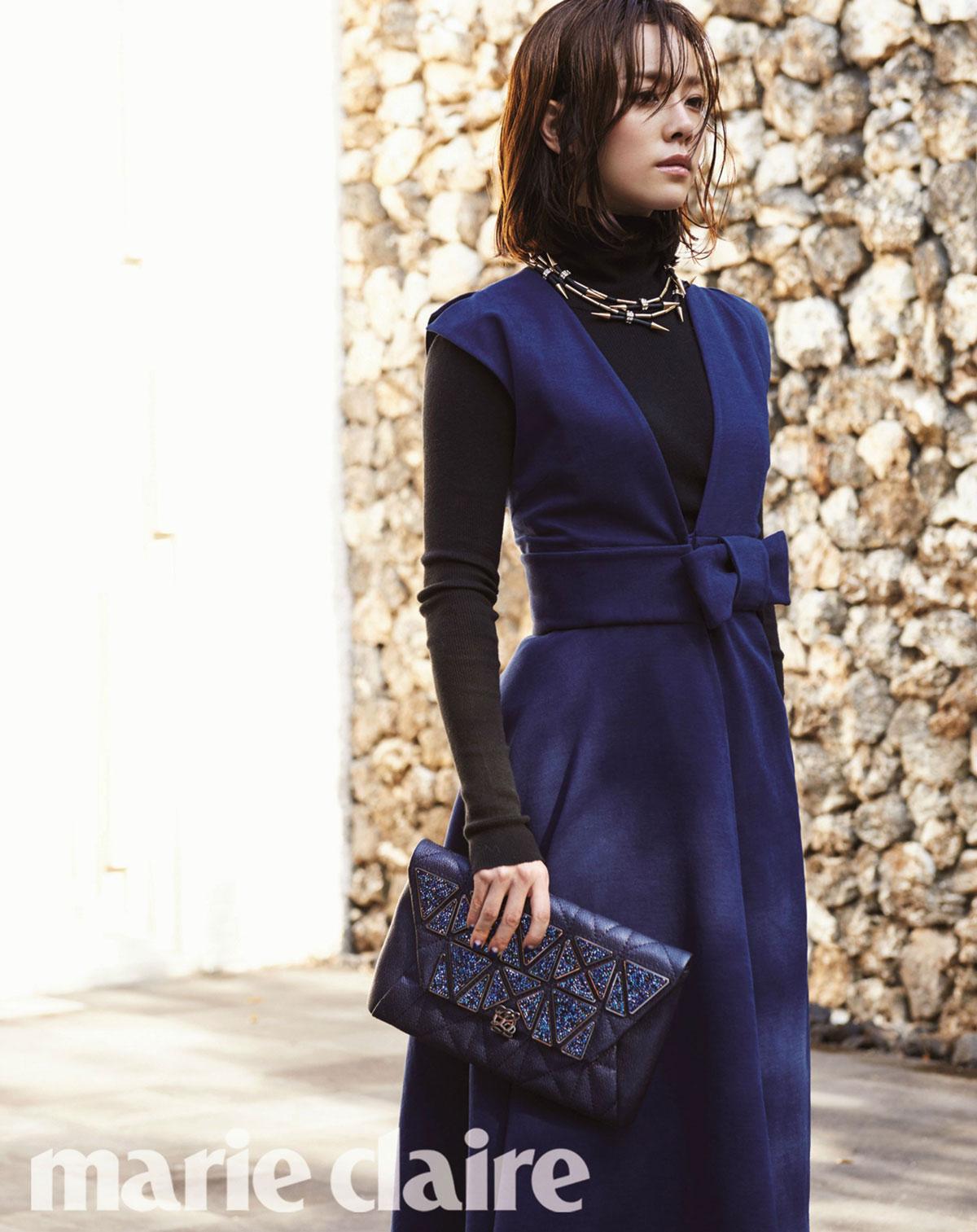 Han Ji Min Korean Marie Claire Magazine