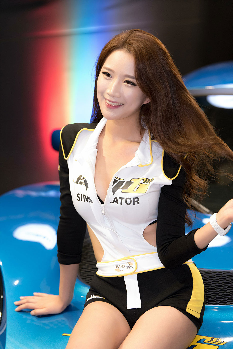 Han Se Rin Seoul Auto Salon 2015 ellip6