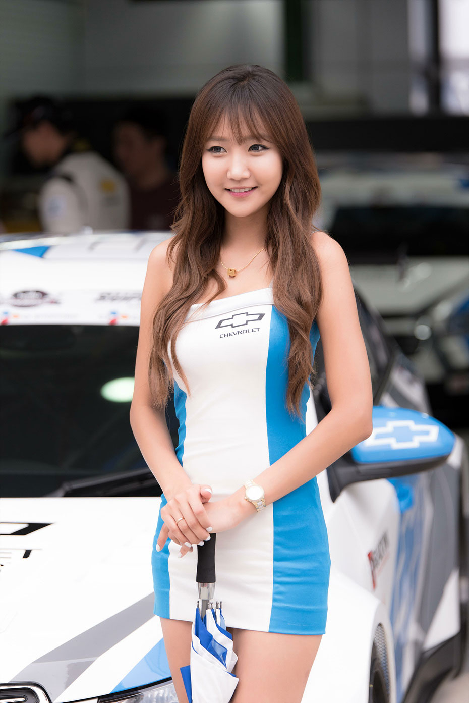 Jo In Young CJ Super Race 2015 Chevrolet