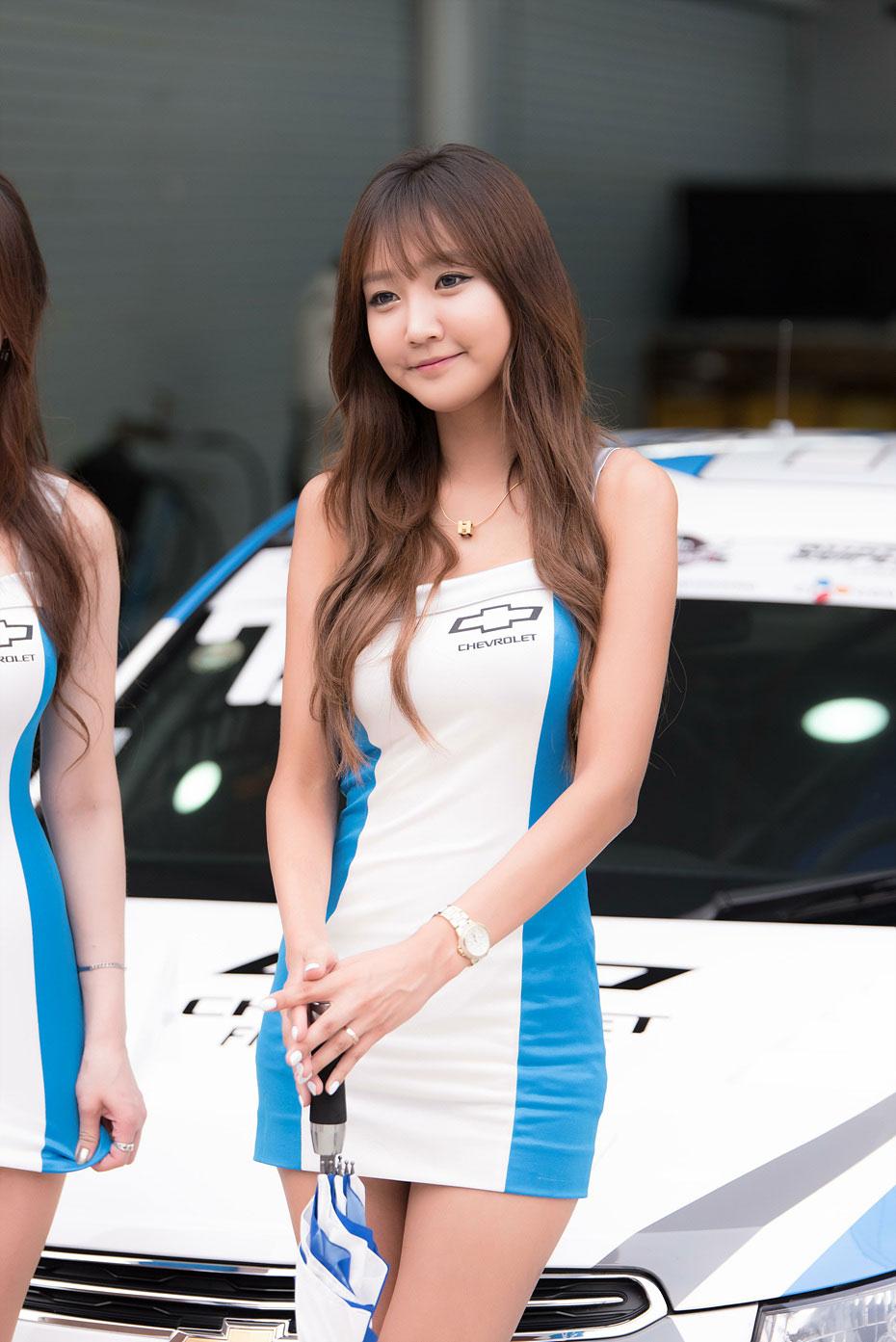 Jo In Young CJ Super Race 2015 Chevrolet
