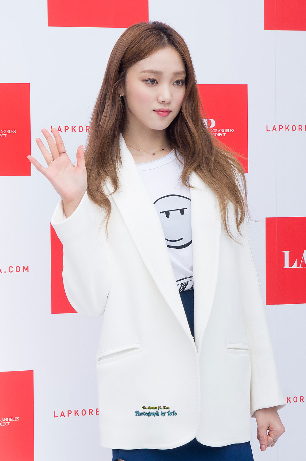 ... event for clothing brand LAP at Seoul's COEX Mall in January 2016