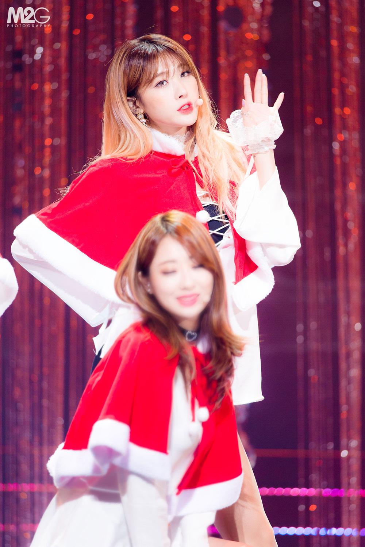 Nine Muses Hyuna KBS Christmas Concert