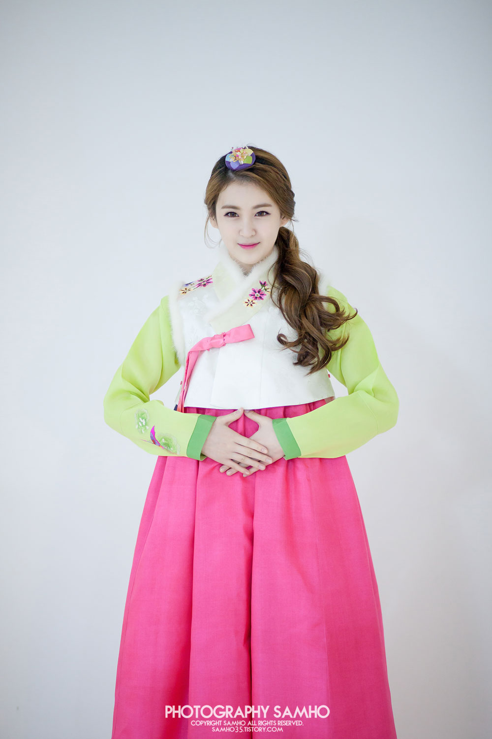 Rania Xia traditional Korean Hanbok dress