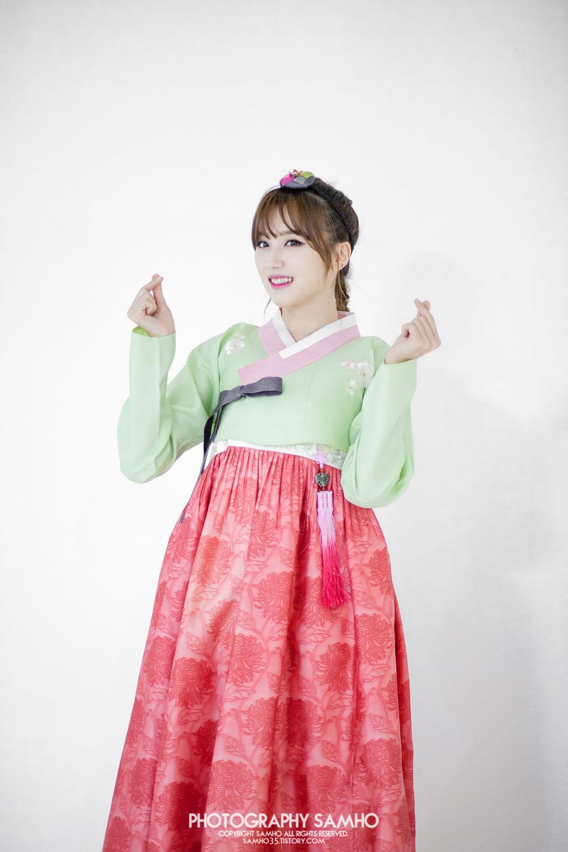 Rania Tae traditional Korean Hanbok dress