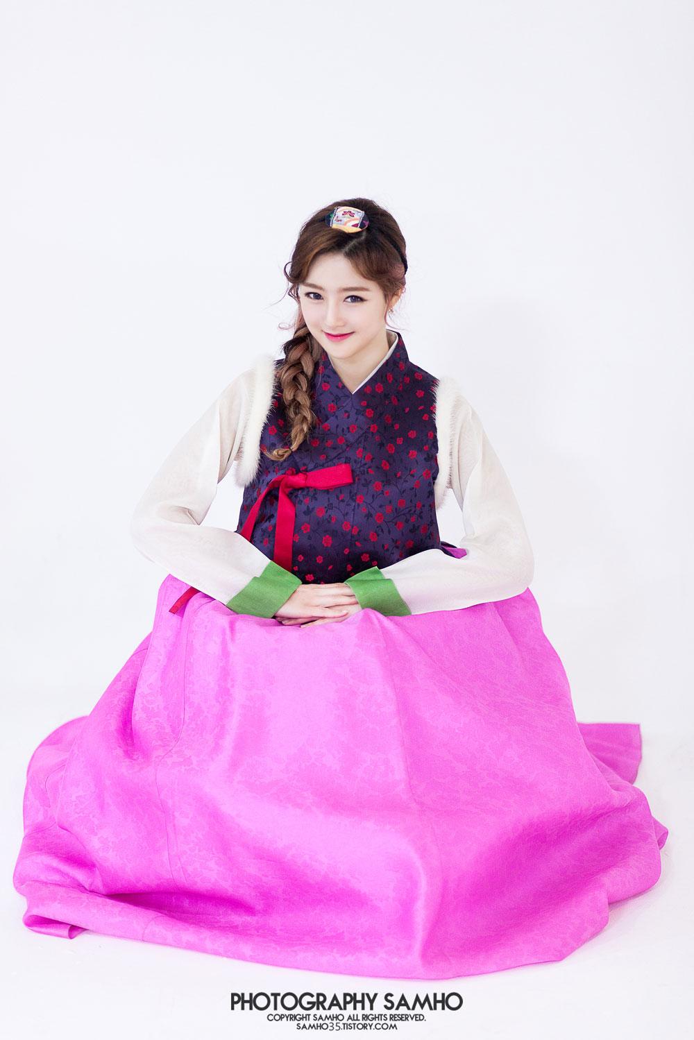 Rania Seulji traditional Korean Hanbok dress