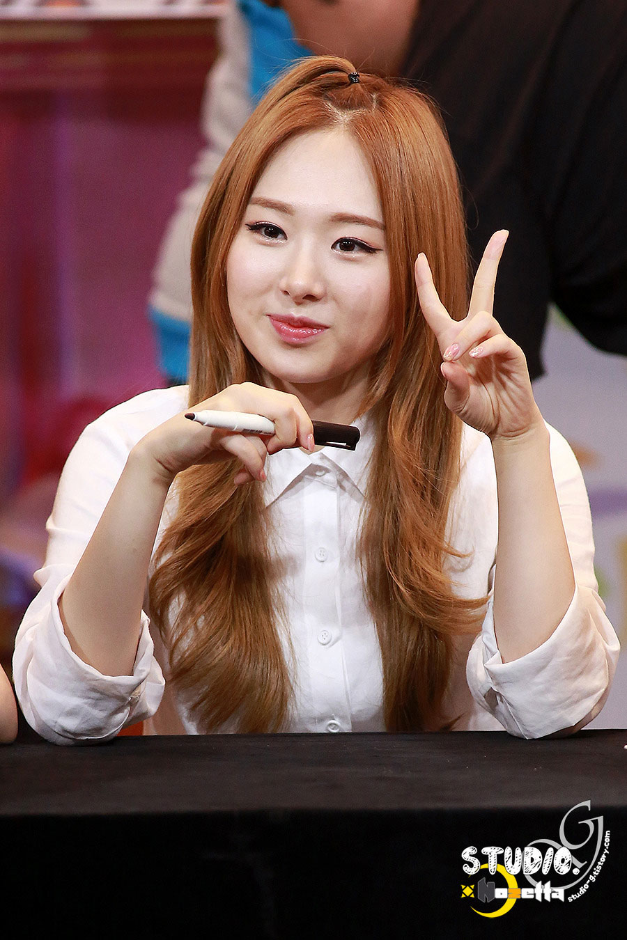 Sonamoo Min Jae Cushion fan signing event