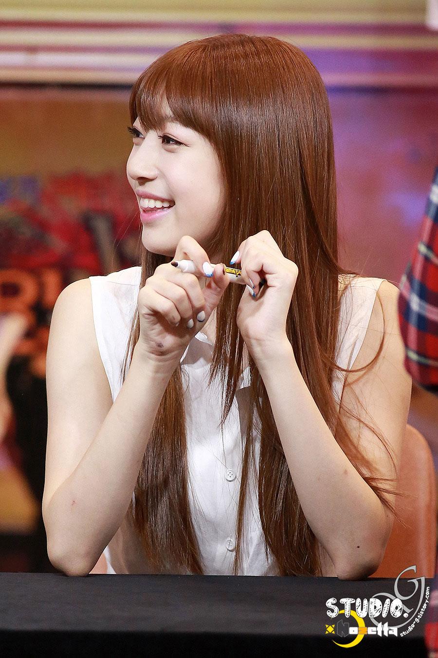 Sonamoo Su Min Cushion fan signing event