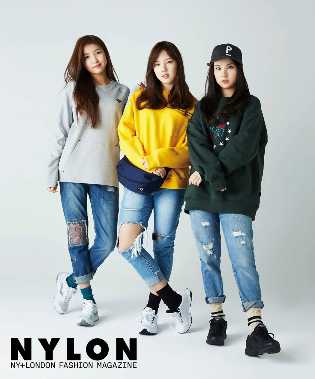 GFriend Korean NYLON Magazine