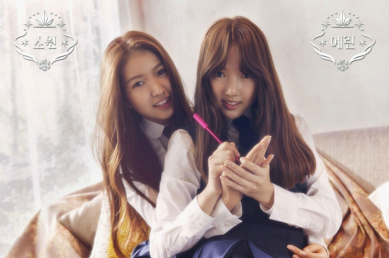 GFriend Sowon Yerin Snowflake