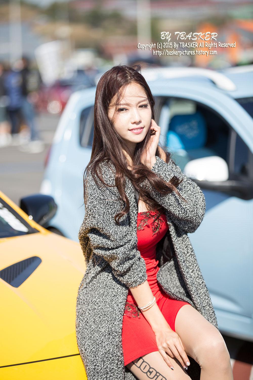 Han Min Young Korea Tuning Motor Show 2015