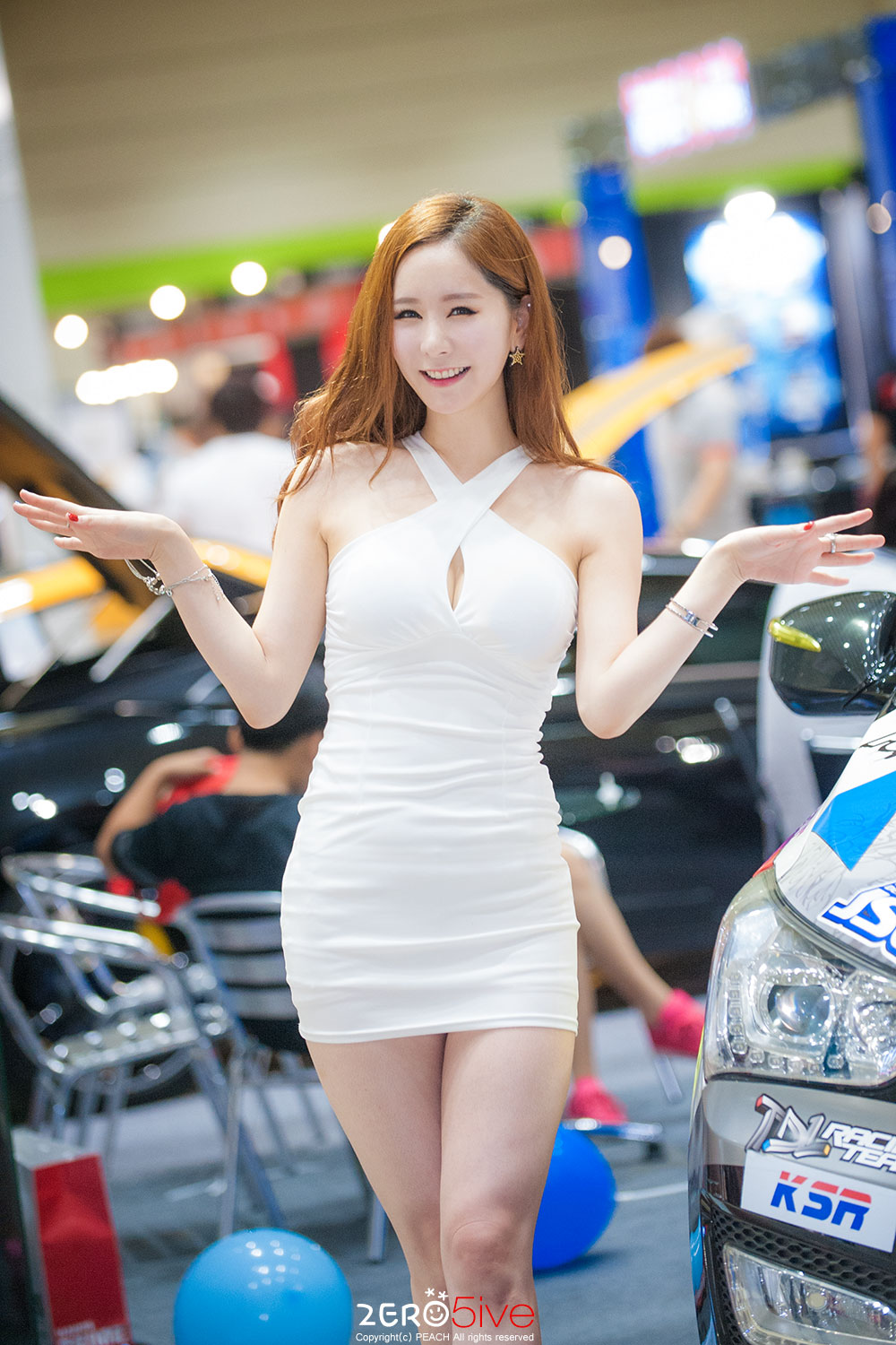 Kim Ye Ha Seoul Auto Salon 2015 TDL Racing Team