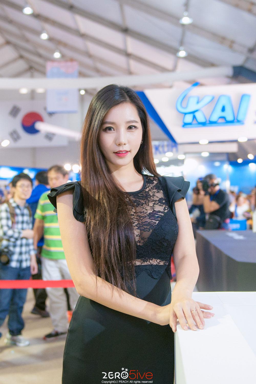 Lee Ji Min Seoul International Aerospace and Defense Exhibition 2016