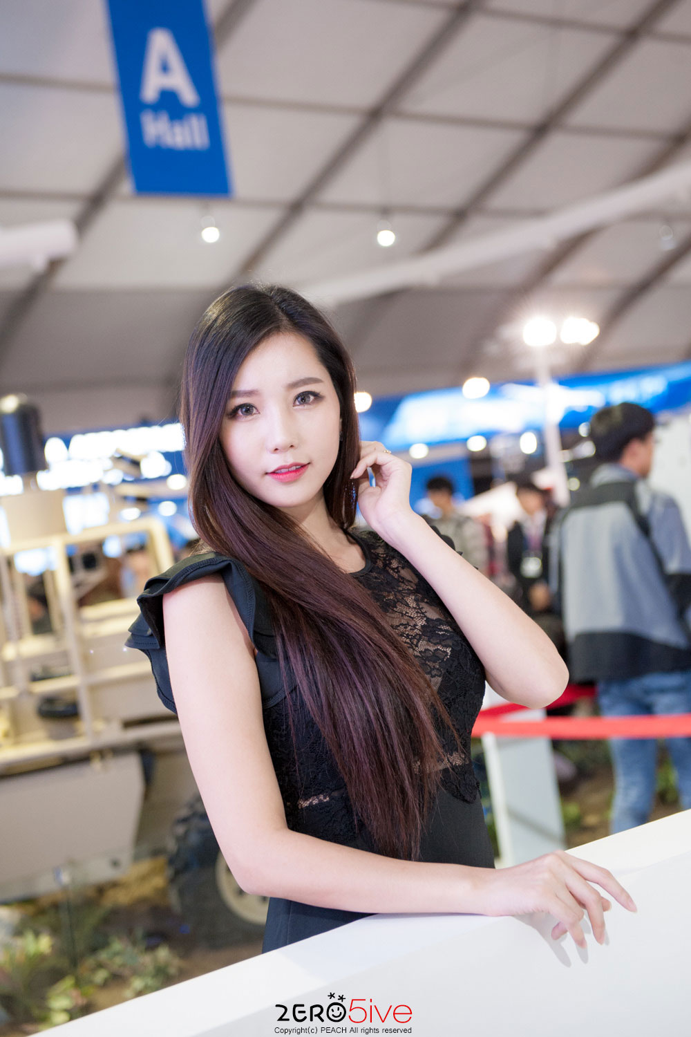 Lee Ji Min Seoul International Aerospace and Defense Exhibition 2016