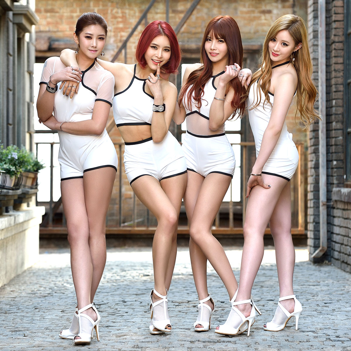 Pocket Girls Bbang Bbang Korean album concept