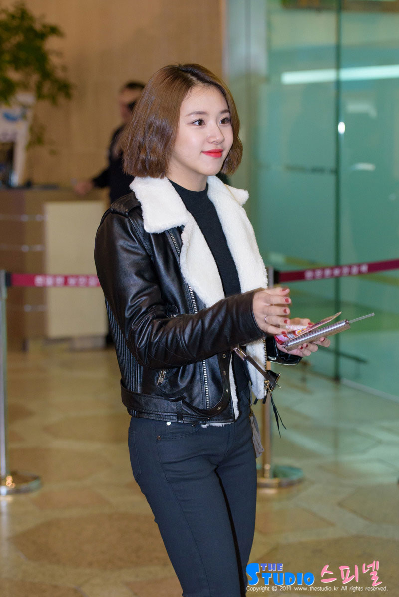 Twice Chaeyoung Gimpo airport fashion