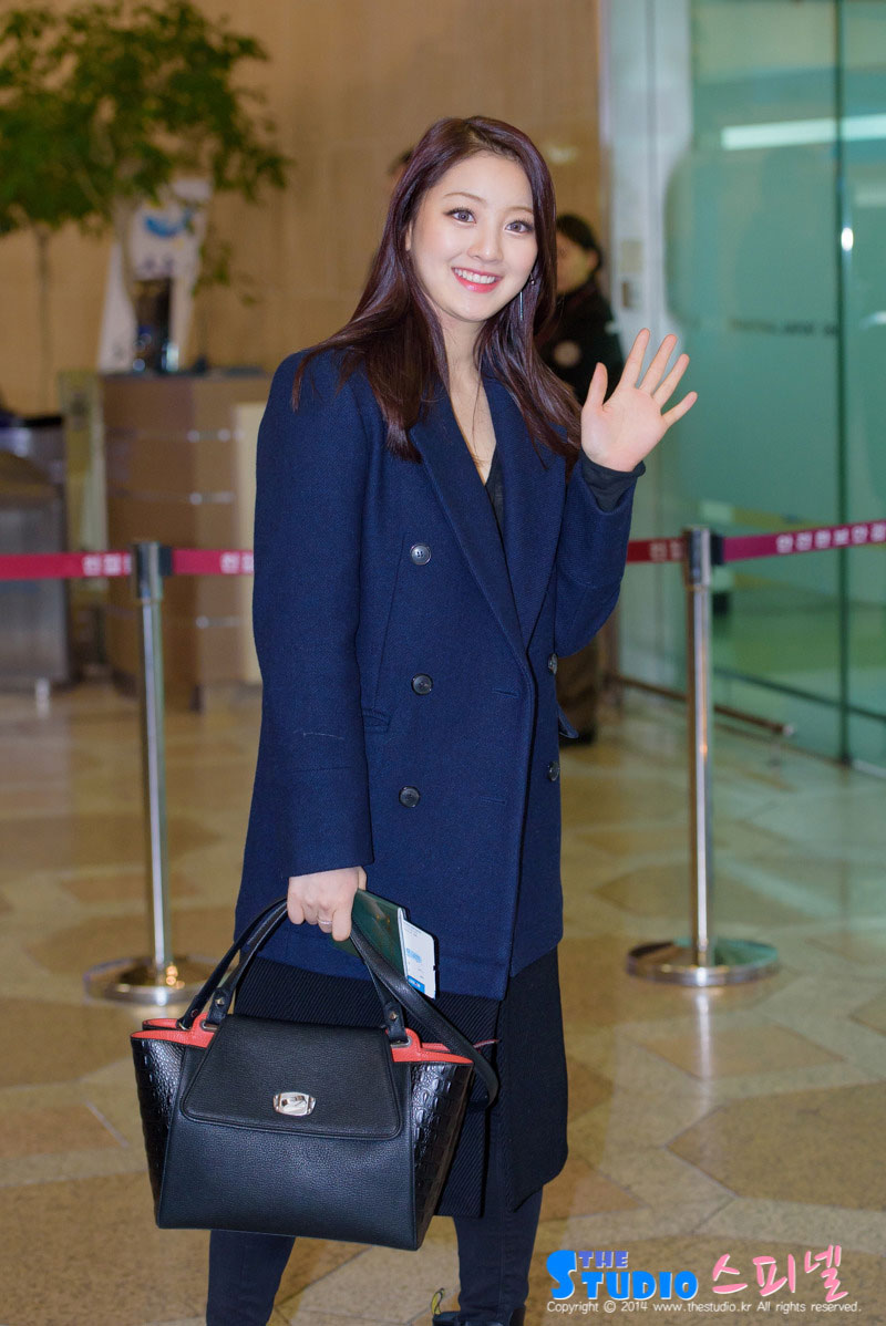 Twice Jihyo Gimpo airport fashion