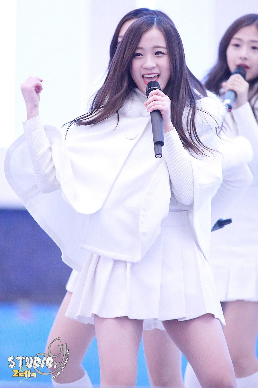 April Jinsol Lotte Busan performance