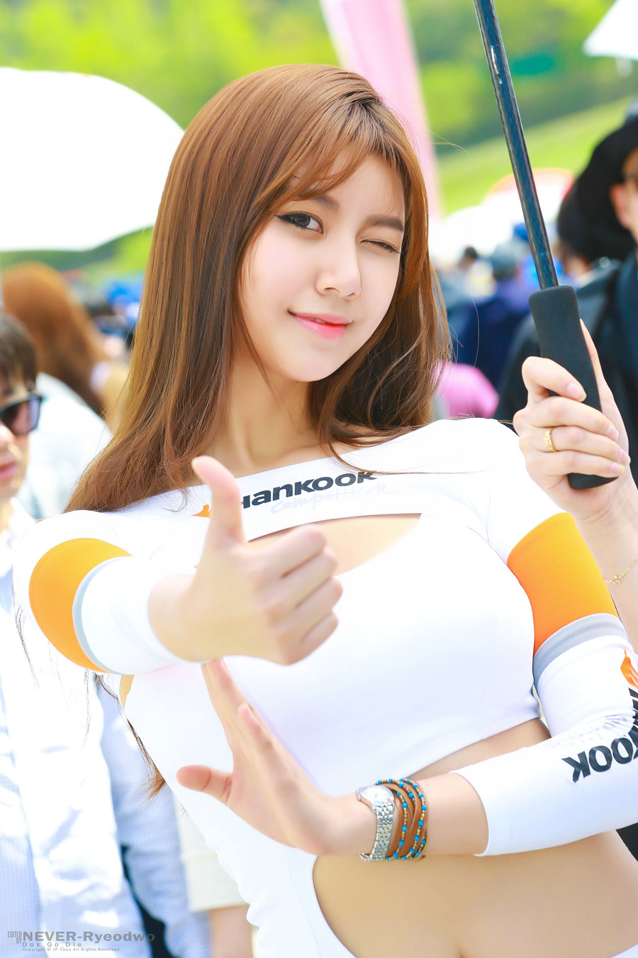 Ban Jin Hee CJ Super Race 2016 Hankook Tire
