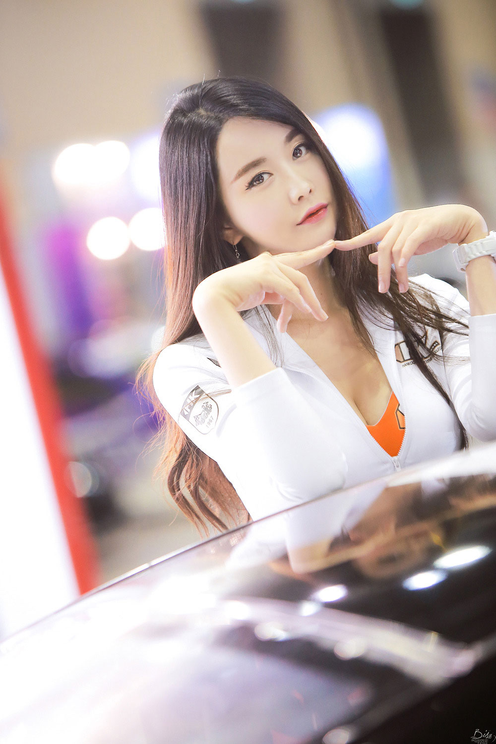 Eun Ha Young Seoul Auto Salon 2015 HD-Loctite