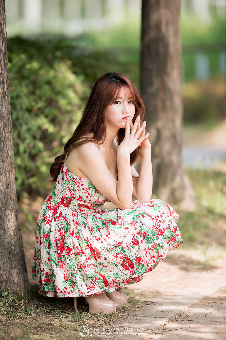 Korean model Im Sol Ah summer photoshoot