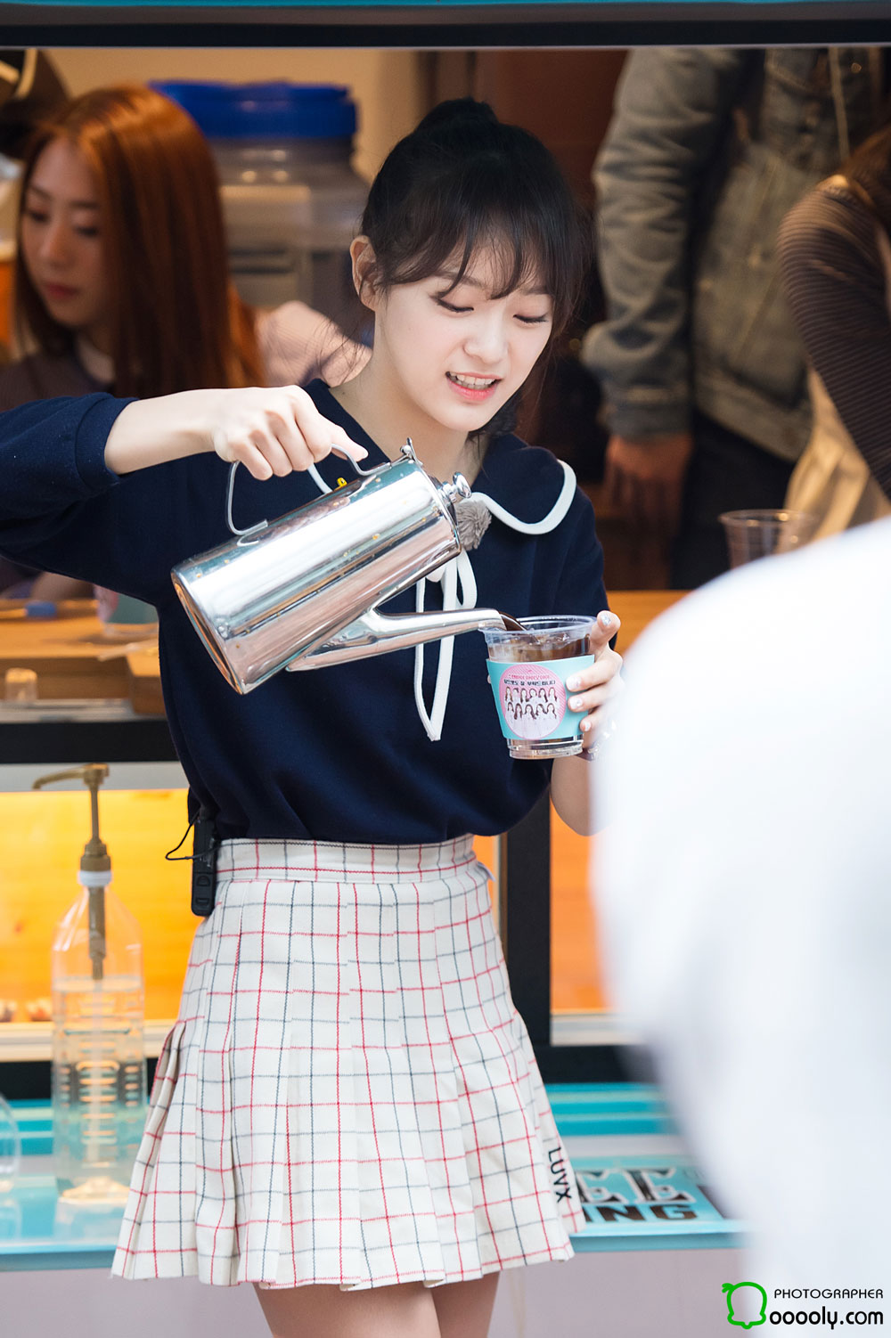 IOI Sejeong coffee tea fanmeet event