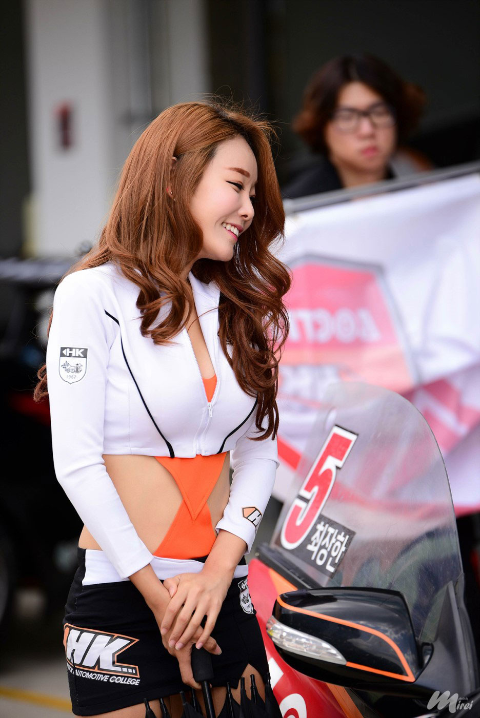 Lee Da Hee Korea Speed Festival 2015 Loctite-HK