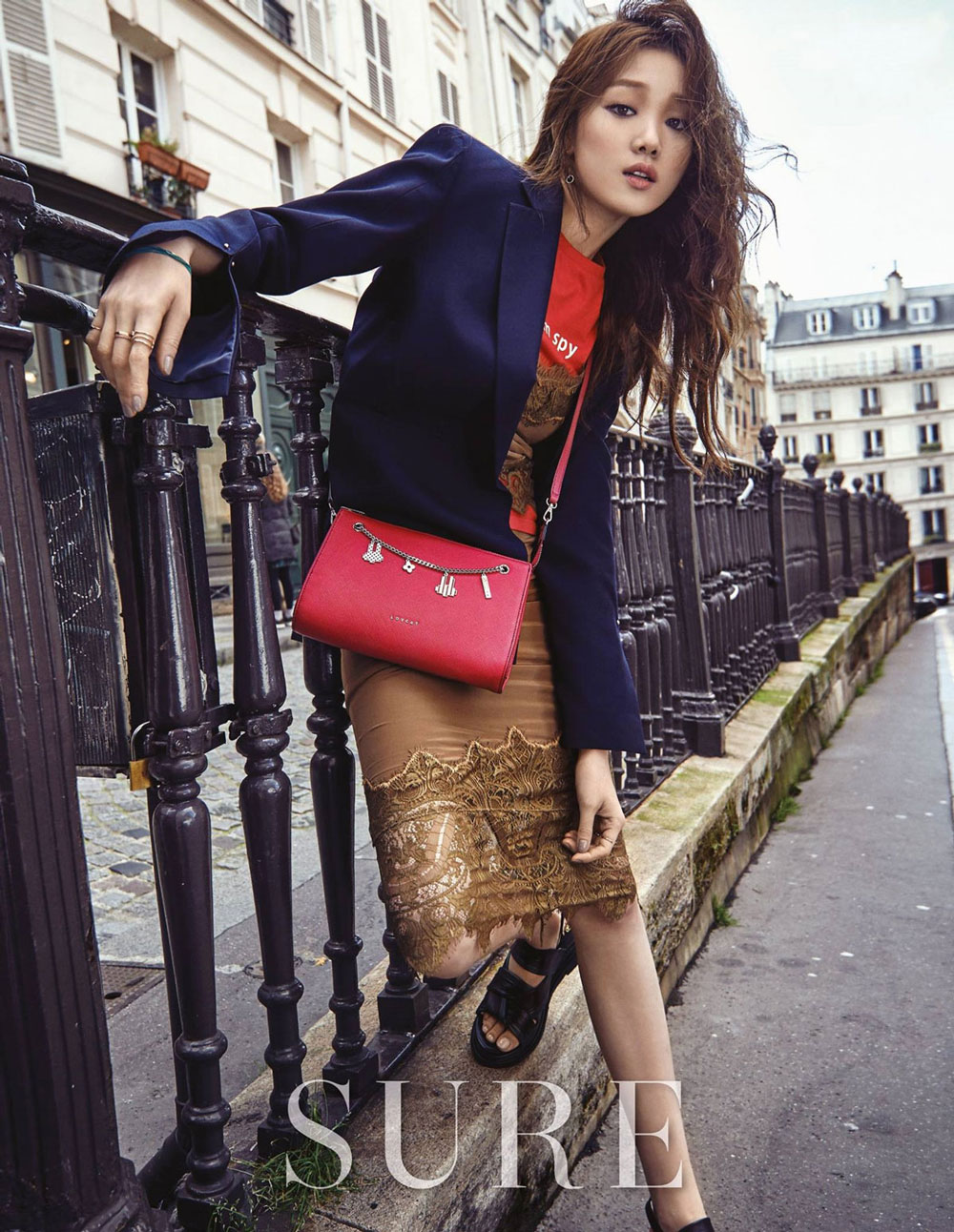 Lee Sung Kyung Korean Sure Magazine Paris