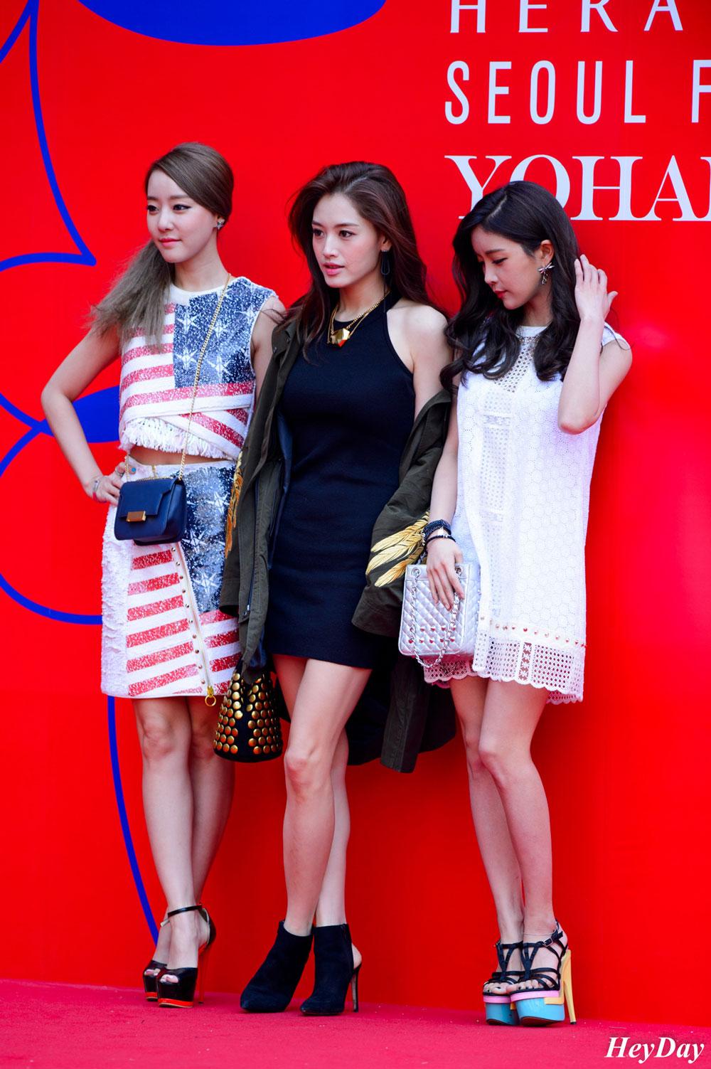 Rainbow Seoul Fashion Week 2016 FW Yohanix