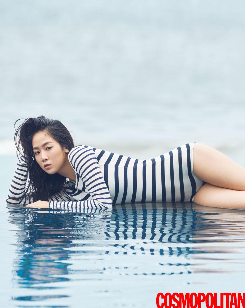 Sistar Soyou Korean Cosmopolitan Magazine