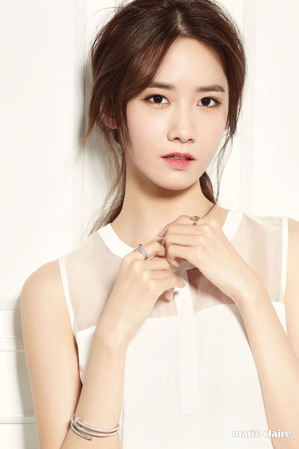 SNSD Yoona Marie Claire Magazine Cartier
