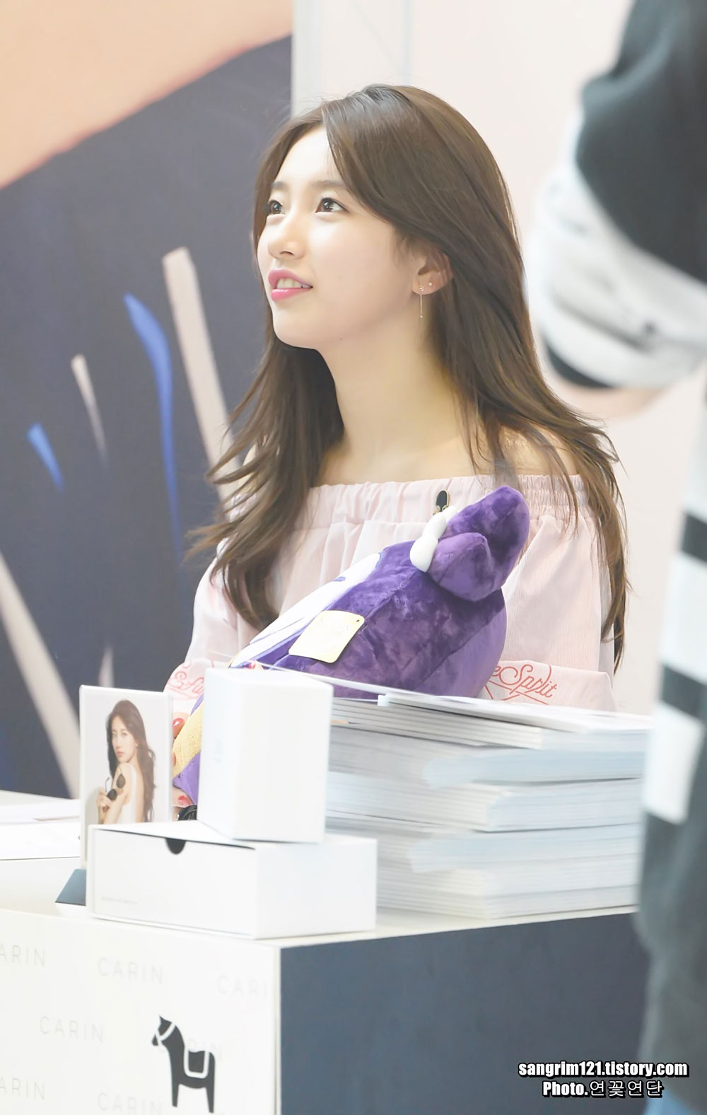 Bae Suzy Carin fan signing event