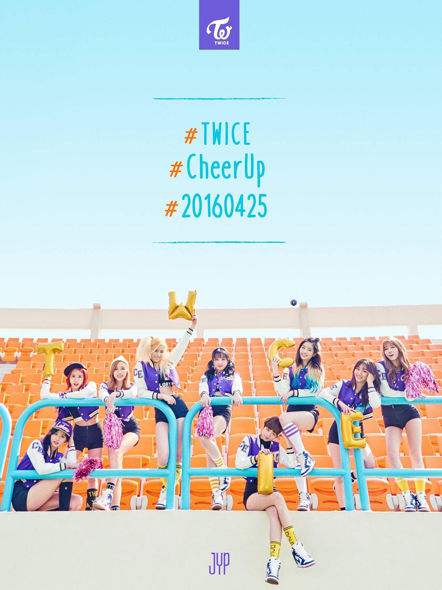 TWICE Cheer Up Korean album concept photo