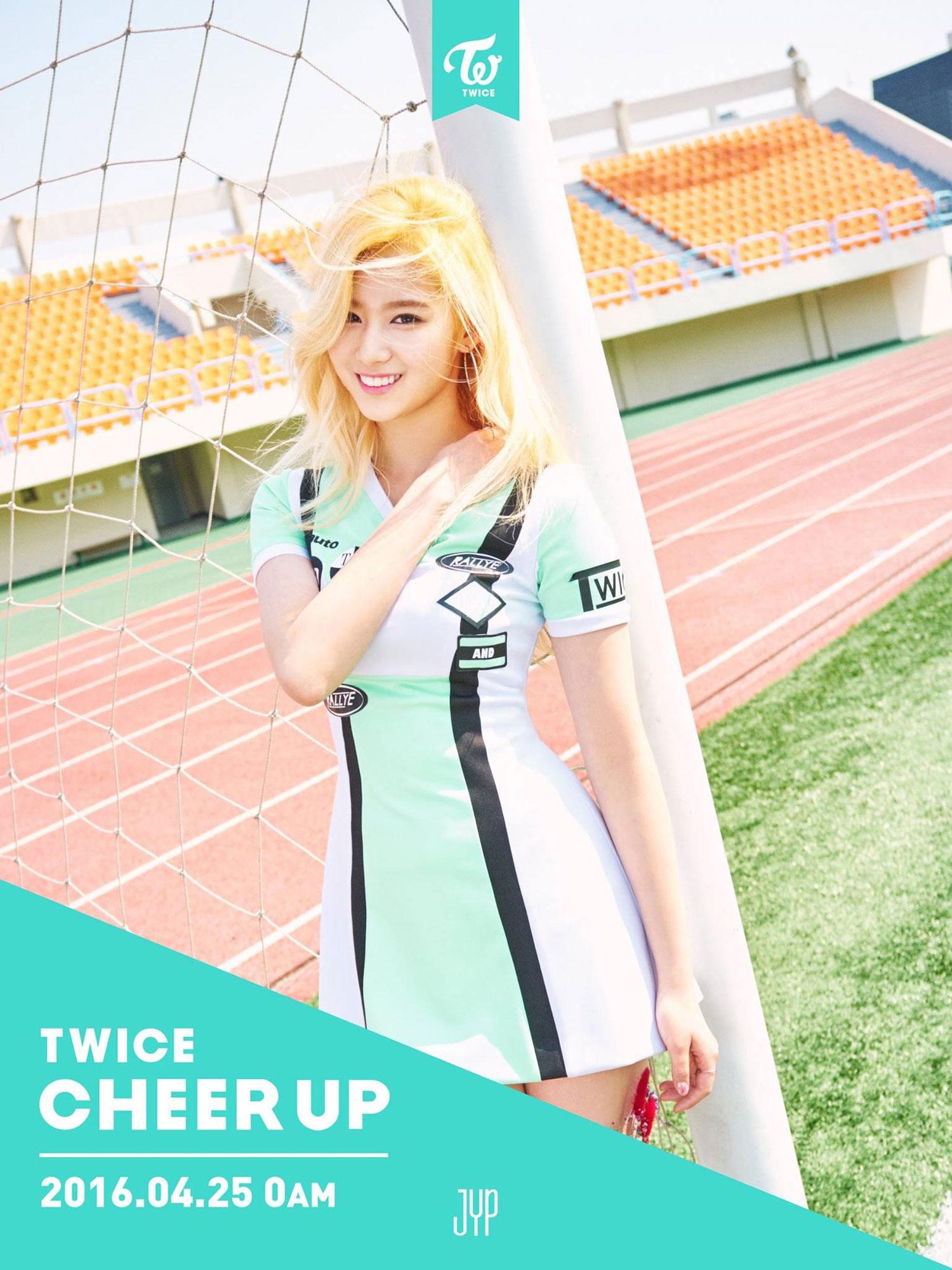 TWICE Sana Cheer Up album concept photo