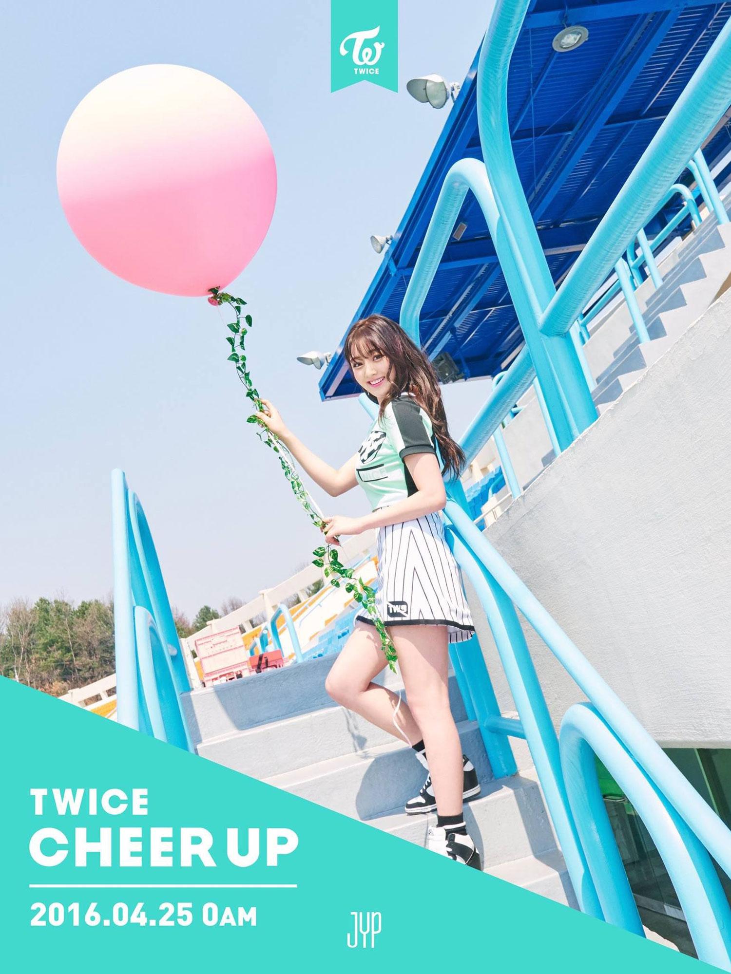 TWICE Jihyo Cheer Up album concept photo