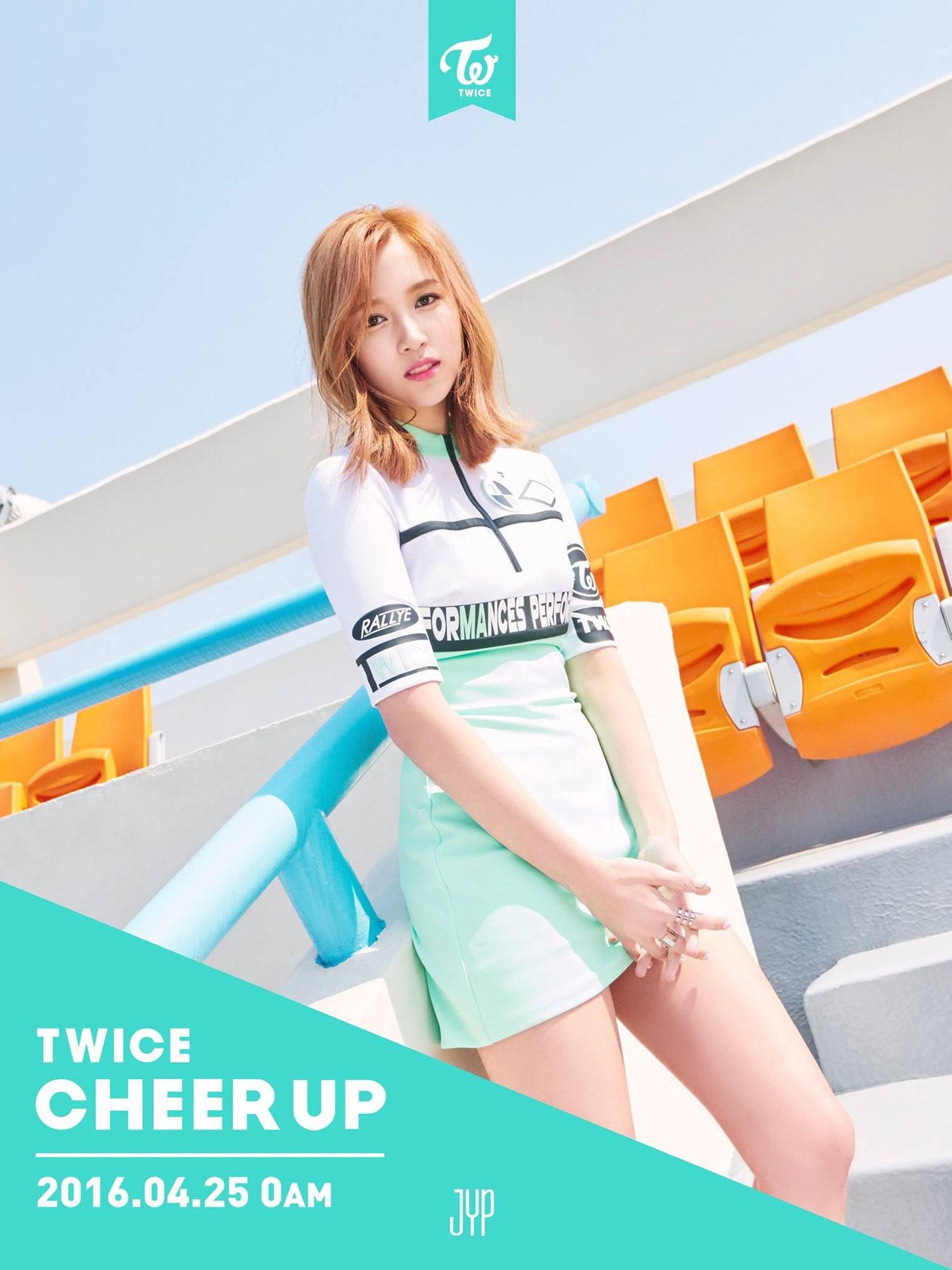 TWICE Mina Cheer Up album concept photo