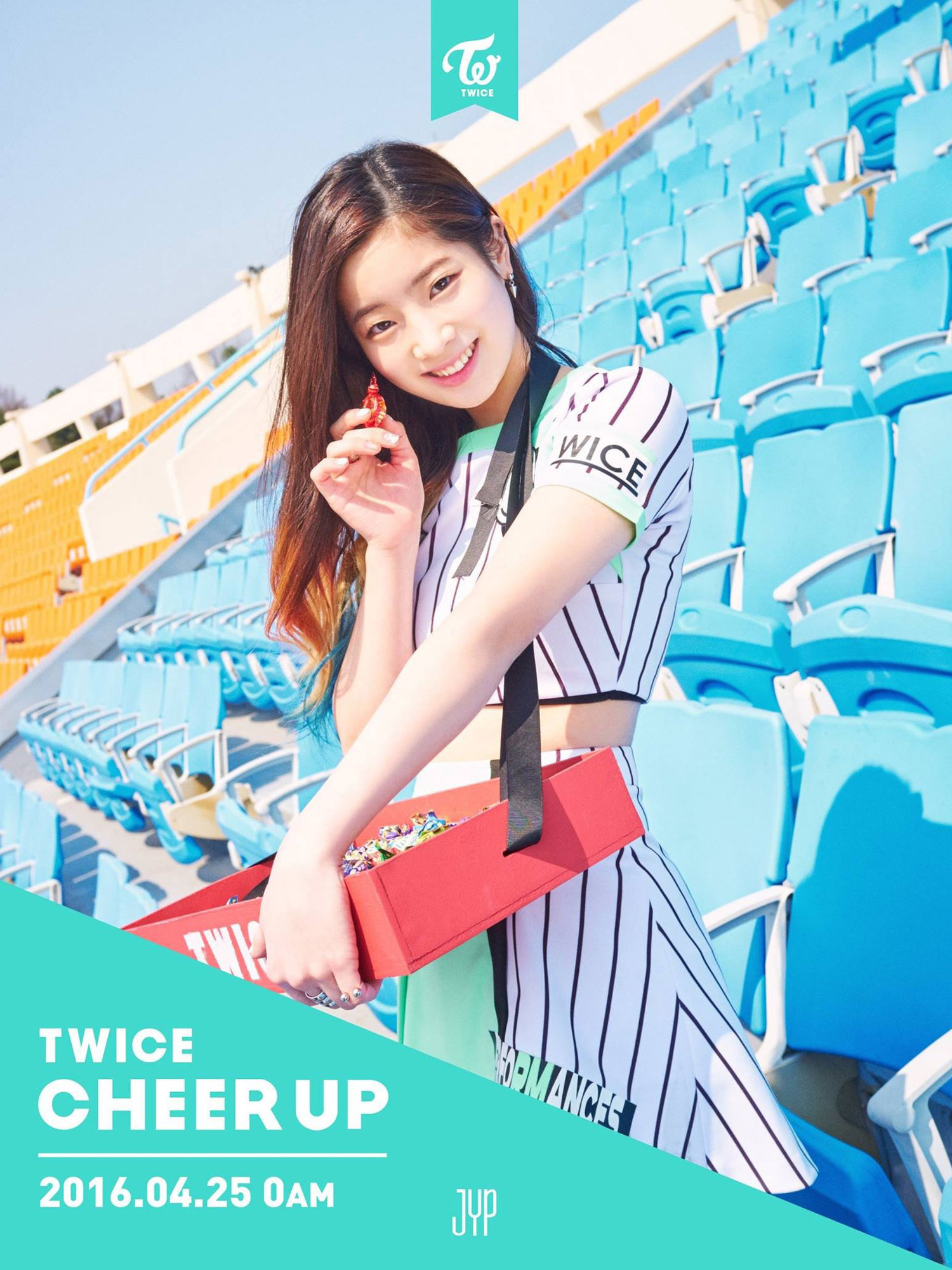 TWICE Dahyun Cheer Up album concept photo