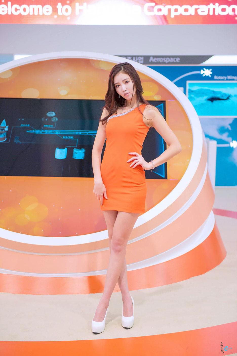 Kim Bo Ra Seoul ADEX 2015 Hanhwa Group