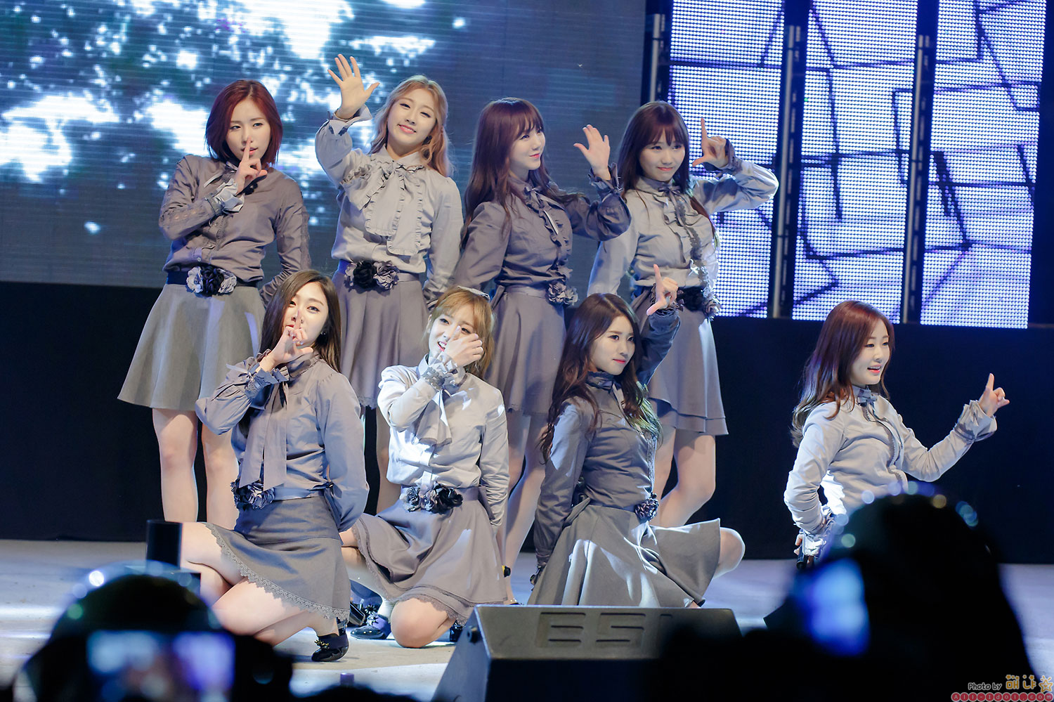 Girl group Lovelyz Joongbu University Festival