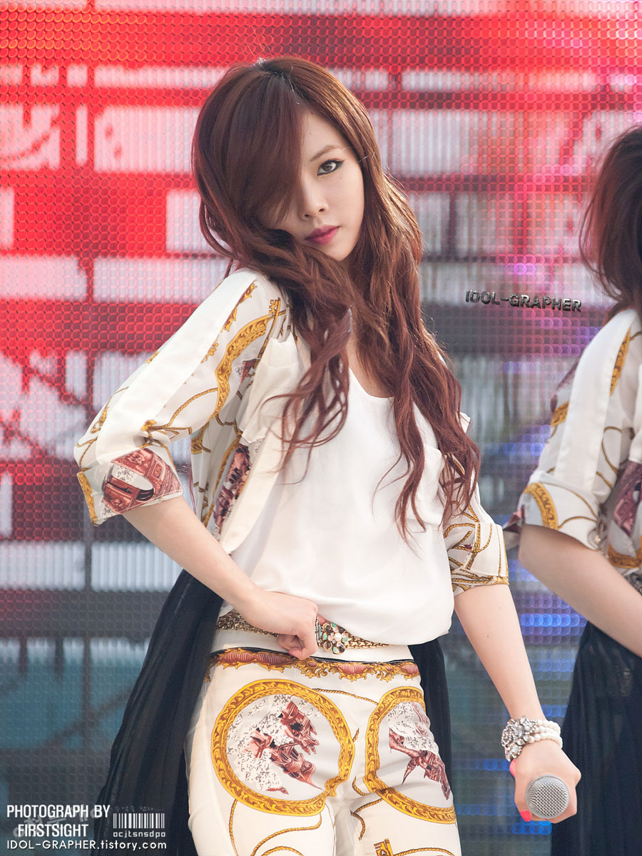 4minute Hyuna Children Festival 2012