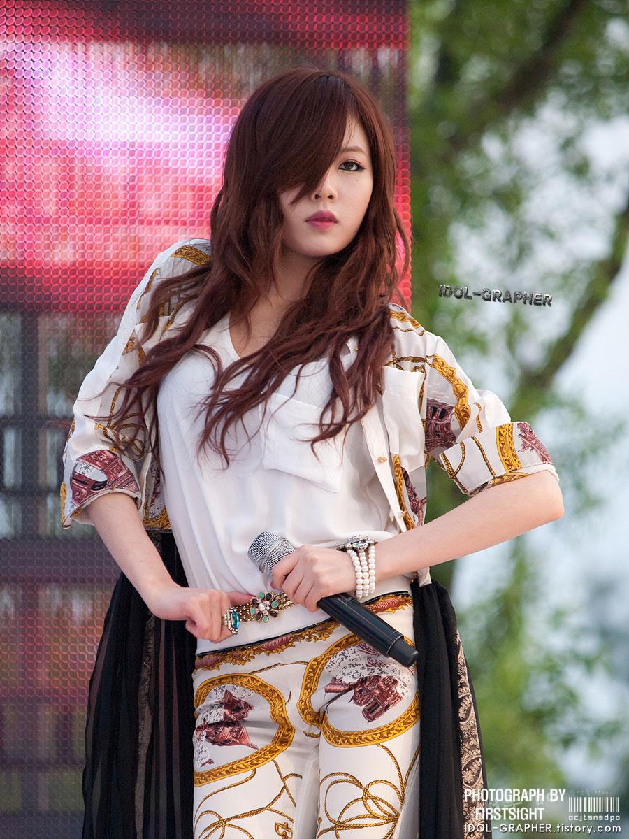 4minute Hyuna Children Festival 2012