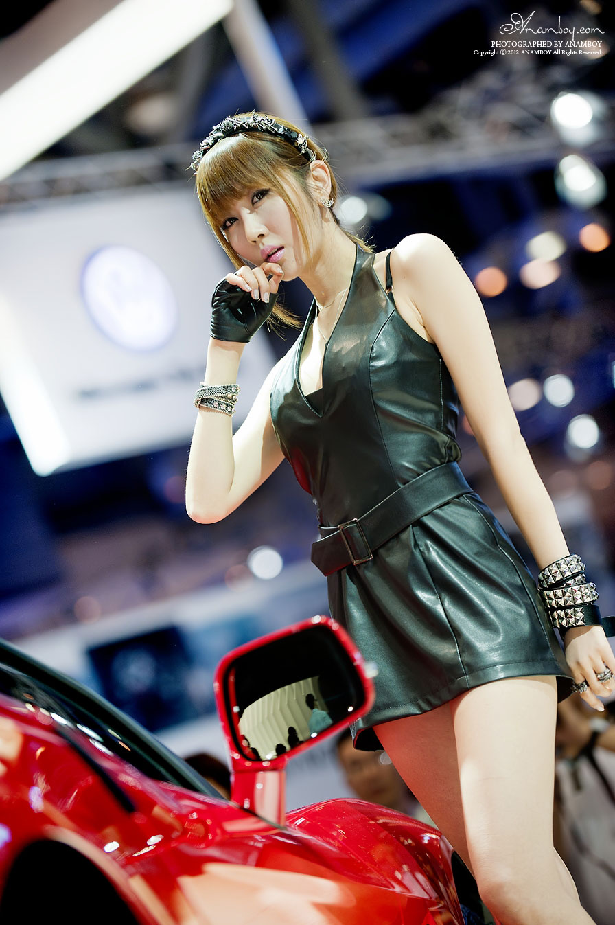 Busan International Motor Show 2012 Korean Girls Hd Emchats Car