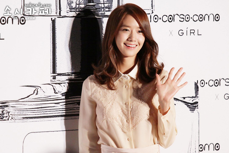 SNSD Yoona Girls perfume event