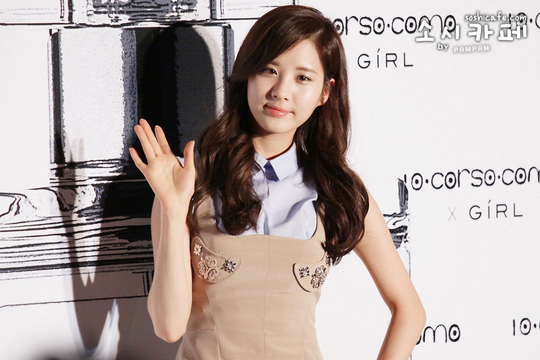 SNSD Seohyun Girls perfume event
