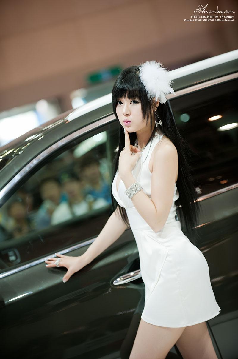 Hwang Mi Hee Busan Motor Show 2012