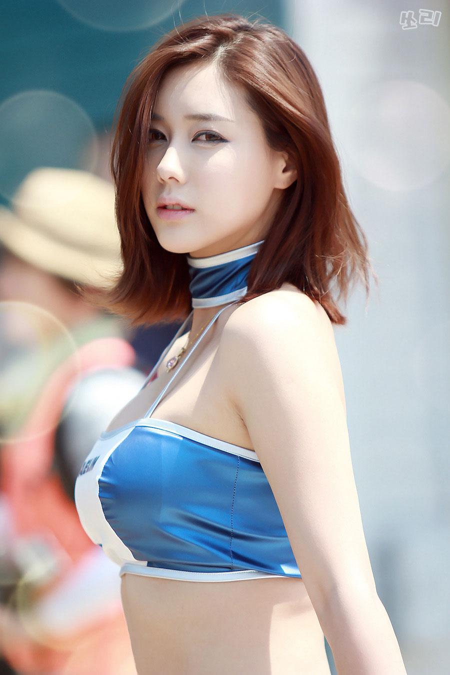 Popular Korean model Kim Ha Yul 2014