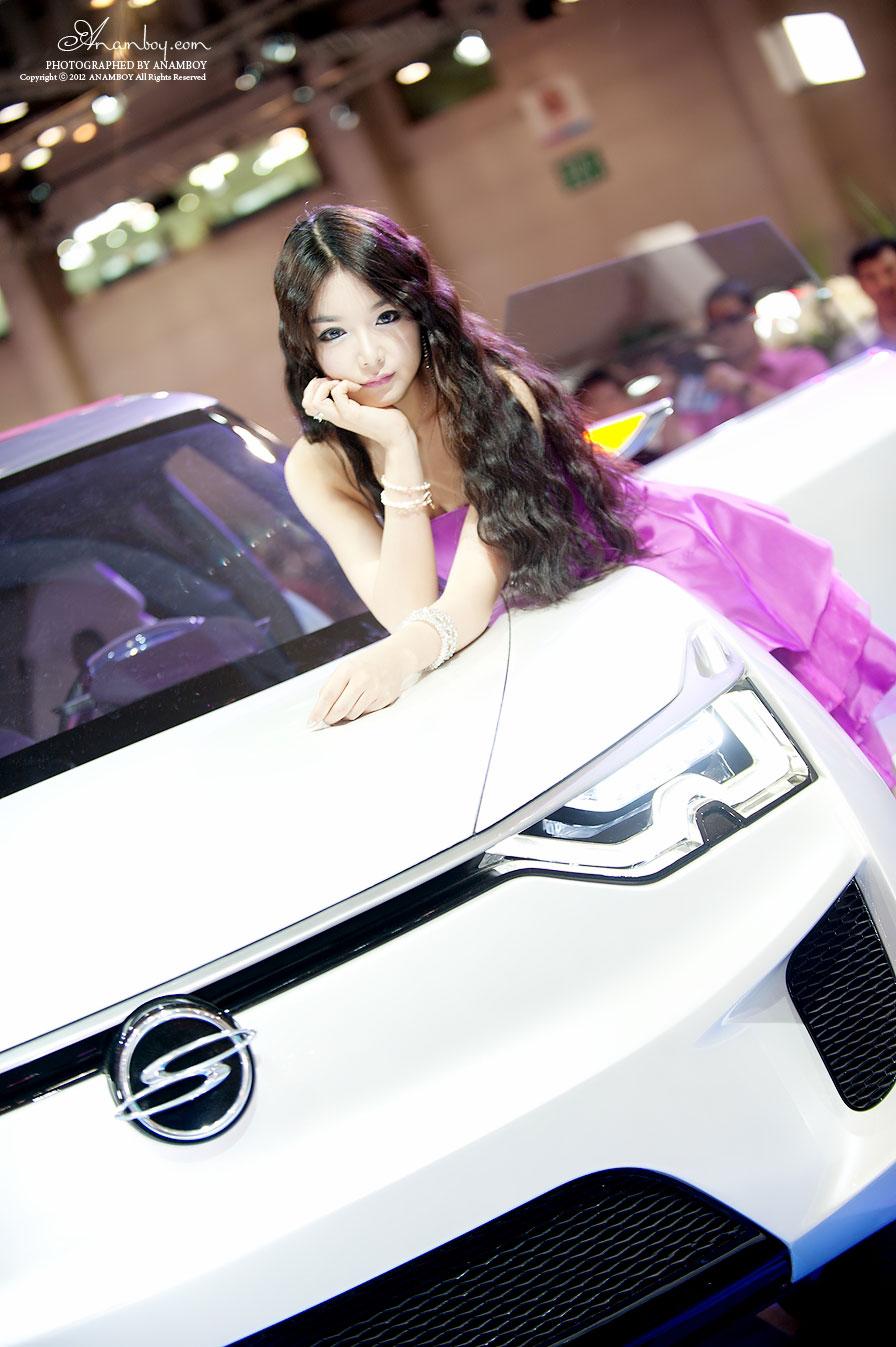 Lee Eun Seo Busan International Motorshow 2012