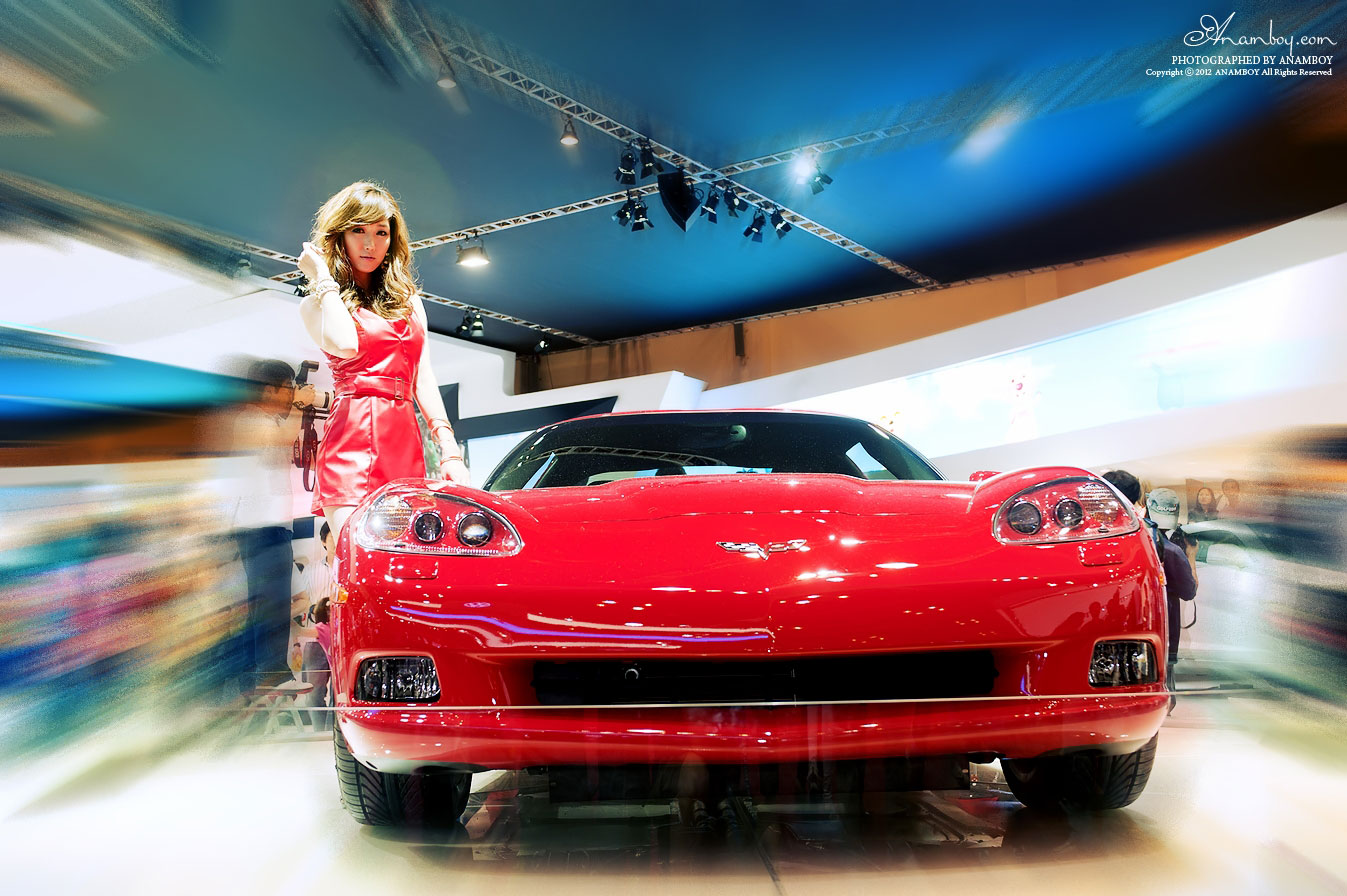 Nam Eun Joo Busan International Motor Show 2012 Chevrolet